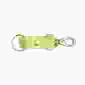 Chartreuse Cowhide Keychain