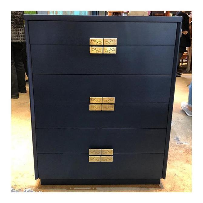 Navy chest of drawers!