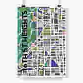 16th Street Heights Print