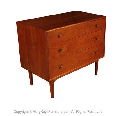 Mid Century Kipp Stewart For Drexel Dresser Bachelor Chest by Marykaysfurniture