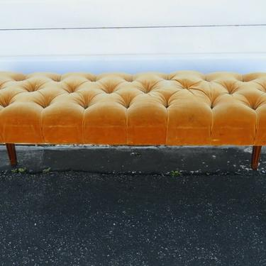 Upholstered Long Bed End Hallway Window Bench 1999