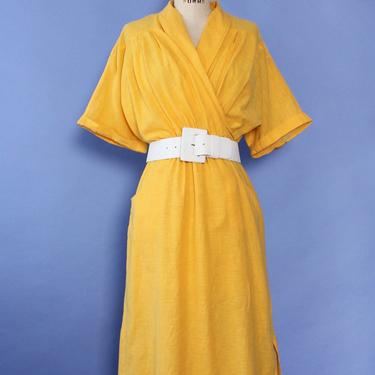 Marigold Soft Drape Dress M