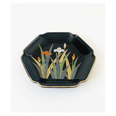 Vintage Ceramic Iris Tray by Otagiri by SergeantSailor