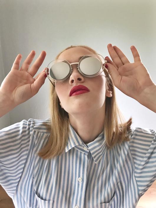Mod Mirror Sunglasses by SpeakVintageDC