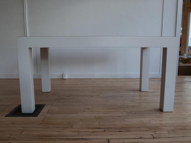 1970's Parsons Dining Table