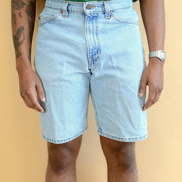 Vintage 80s 90s Denim Levis 550s Shorts Made in USA White label 31 32 33 by MAWSUPPLY