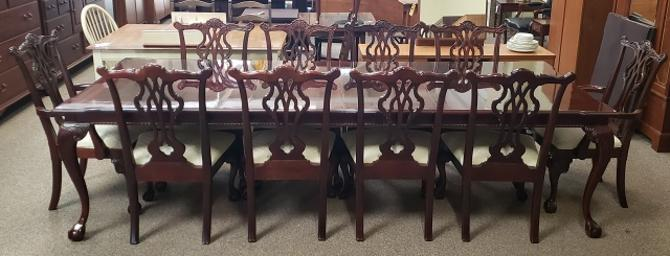 Item #KS1b Contemporary Cherry Dining Set by Thomasville