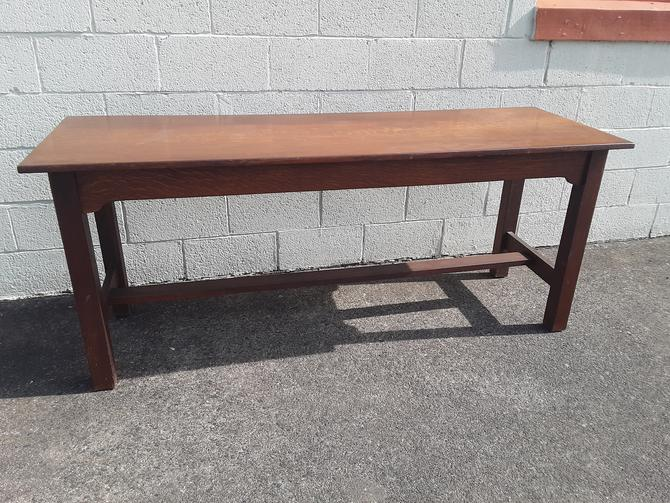 Rare stickley brothers quaint furniture console table by QuaboagValleyAntique