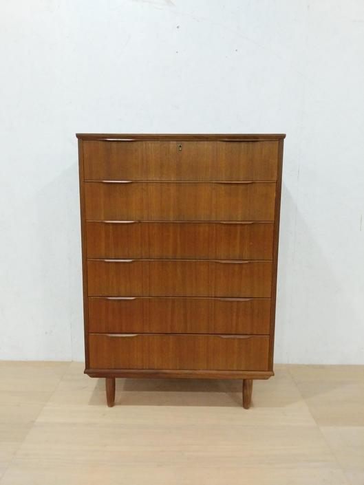 Vintage Danish Modern Teak Ejsing Dresser by FarOutFindsNYC