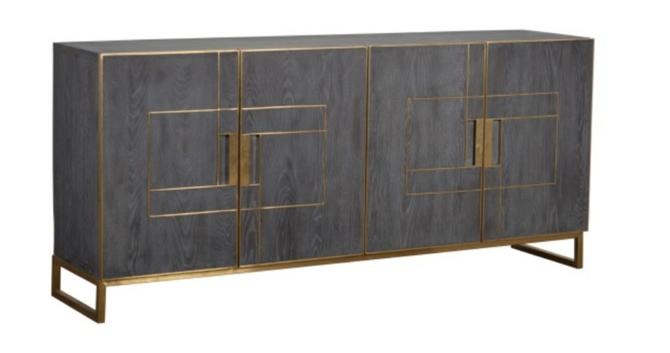 LUX 4 DRAWER SIDEBOARD