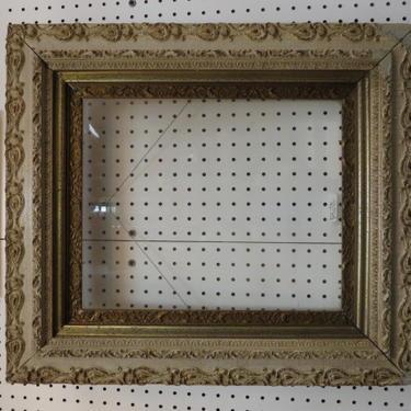 Vintage Antique carved gesso and wood frame, c1900
