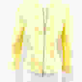 Lafayette 148 Size L Yellow Cotton Jacket