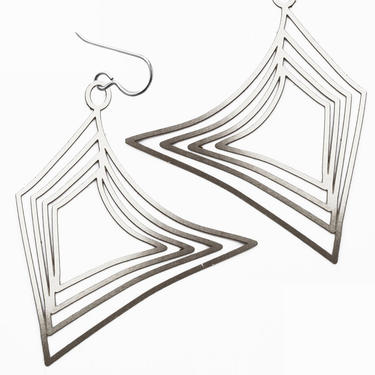 FS248E - concentric sails earrings