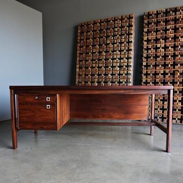 Arne Vodder Rosewood Desk for H.P. Hansen circa 1960