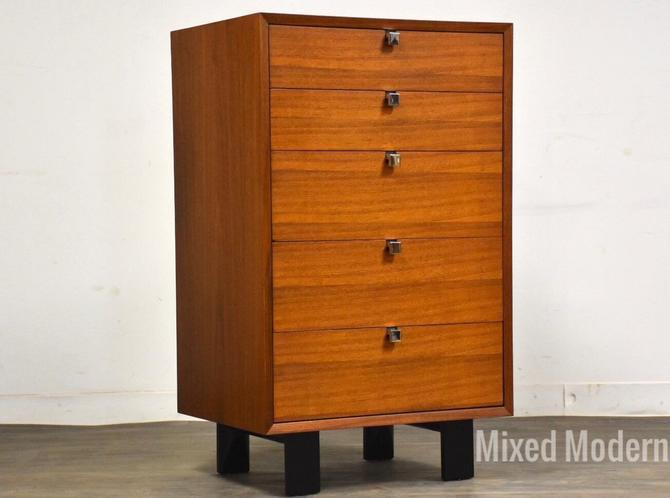 George Nelson for Herman Miller Walnut Dresser Chest by mixedmodern1