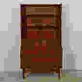 Danish Modern Teak Display / Bookcase / Secretary