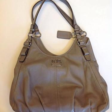 Coach Taupe Bag