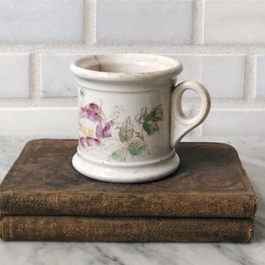 Small Antique Ironstone Mug by AnticaMarket