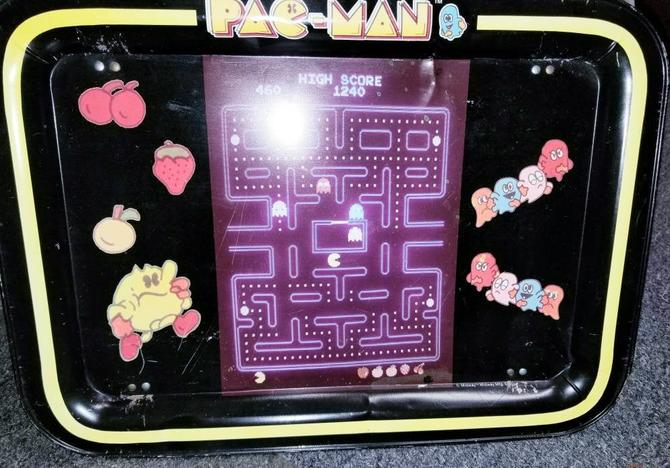 1980s Pac-Man Dinner Tray! by MOBvintage