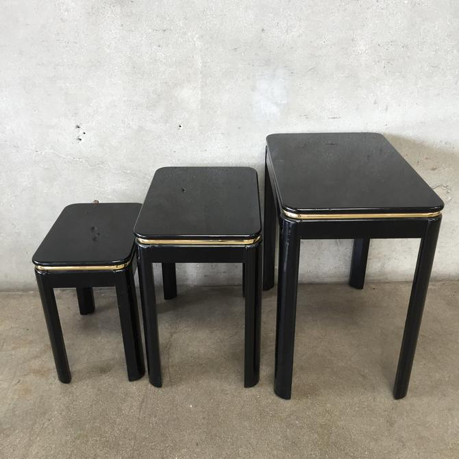 Vintage Lane Lacquered Nesting Tables