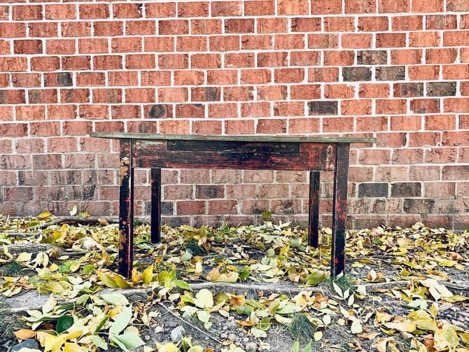 Antique Farm Coffee Table | Modern Farmhouse Coffee Table | Distressed Coffee Table | Small Table | Side Table | Vintage Painted Table | Kid by PiccadillyPrairie