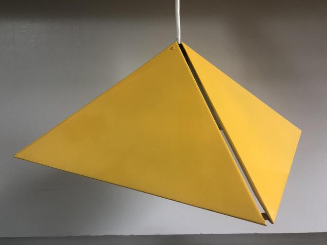 Post Modern Triangular Metal Ceiling Lamp by Moderndesign20