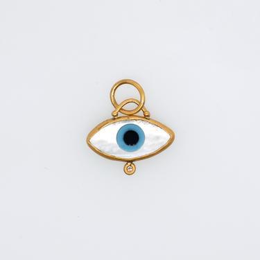 Petite Evil Eye Luck Charm