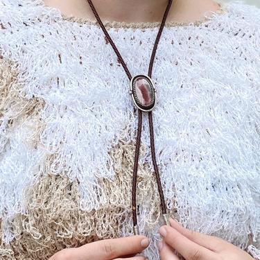 Handmade Jasper Bolo Tie (IL52)
