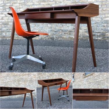 Made In Minnesota: Solid Walnut Desk