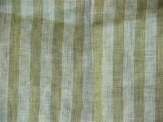 Ticking Stripe in Beige