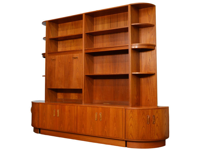 Mid Century Teak Wall Unit By G Plan by RetroPassion21