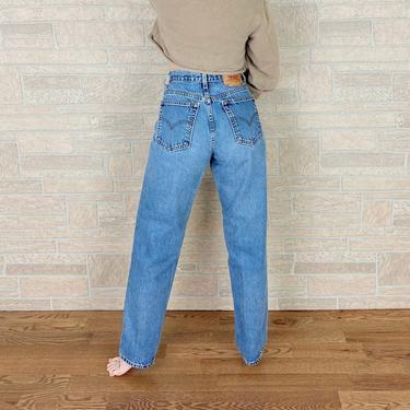 Levi's 550 Vintage Jeans / Size 28 29 by NoteworthyGarments