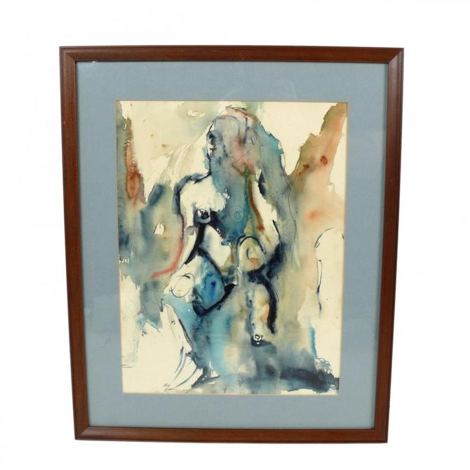 Abstract Nude by Bob Higgins
