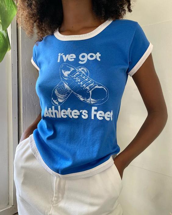 80s Athlete's Feet Tee