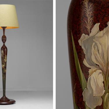 Art Nouveau Floor Lamp