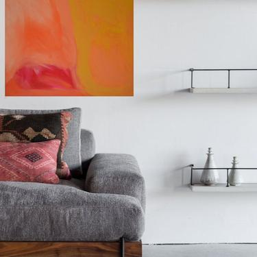 "New 36""x36"" Canvas Painting Minimal Wall Art, Modern Home Decor, Abstract Minimalist Modern Original Contemporary Artwork Commission Art by ArtbyDinaD"