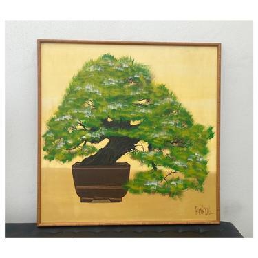 Bonzai Tree Painting by Lee Reynolds