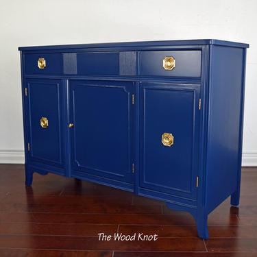 Federalist Navy Blue Sideboard