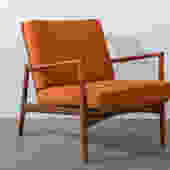 Mid-Century Modern Teak Lounge Chair by Ib Kofod Larsen