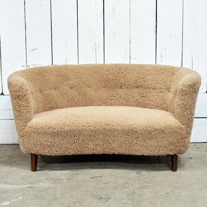 Sheep Skin Sofa With Legs