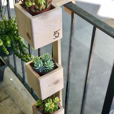 Tiered Balcony Planter Box by FifteenDegree