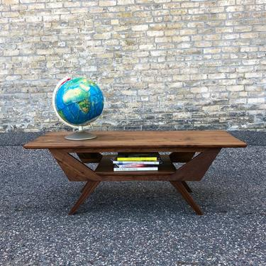 Made In Mn: Walnut Coffee Table