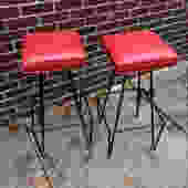 Frederick Weinberg Bar Stools Set of 2 by bcdrygoods