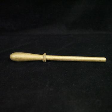 """Belaying Pin, Brass,  9 1/2"""""""