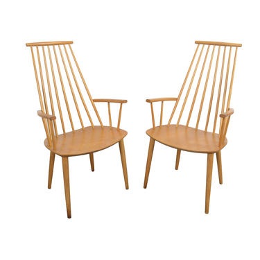 Highback Chairs Folke Palsson for FDB Mobler Danish Modern by HearthsideHome