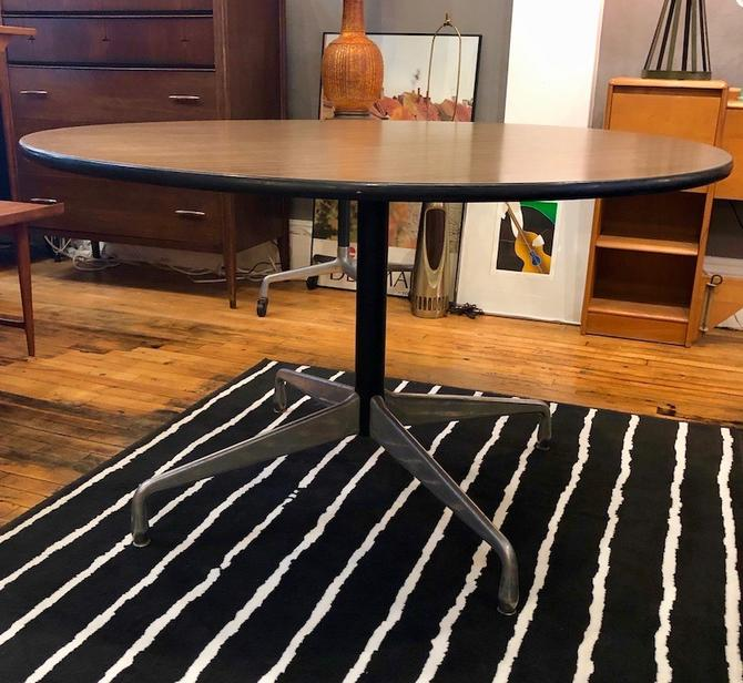Vintage Eames for Herman Miller Aluminum Group Dining Table 48″
