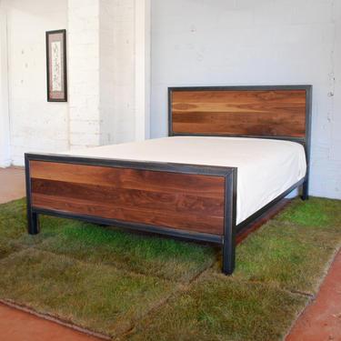 Kraftig Bed Number 3 with Walnut by deliafurniture