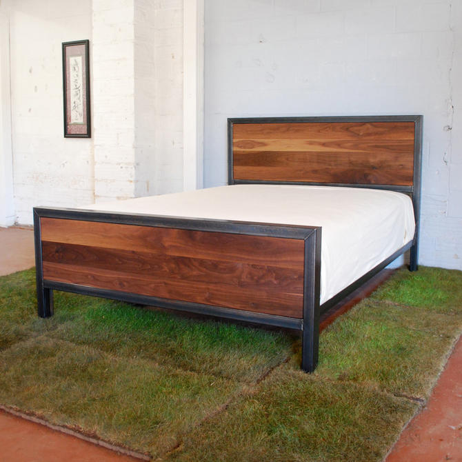 Kraftig Bed Number 3 with Walnut by deliafurniture