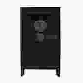 Chinese Distressed Black Tall Wedding Armoire Wardrobe TV Cabinet cs5420S
