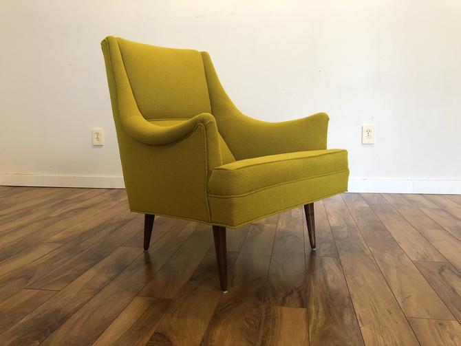 Milo Baughman Thayer Coggin Mid Century Chair